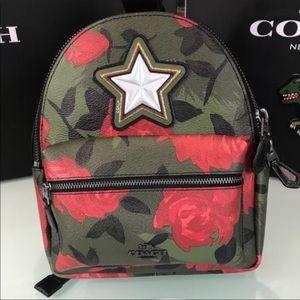 NWT Coach Mini Charlie Backpack